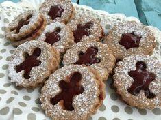 Fűszerezd a linzered, ha jót akarsz! Diabetic Recipes, Diet Recipes, Gingerbread Cookies, Christmas Cookies, Cake Cookies, Doughnut, Healthy Life, Food And Drink, Sweets