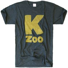 Kalamazoo is the largest city in Southwest Michigan.  Known for its production of windmills, mandolins, buggies, automobiles, cigars, stoves, paper, and paper products, K-zoo has a rich and diversified manufacturing history.  Super soft print on a vintage t-shirt blend of 50/25/25 cotton/poly/rayon.  This Michigan shirt was designed and printed locally.  Made in the USA.