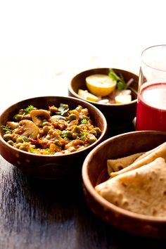 matar mushroom recipe with step by step photos. semi dry delicious vegetable dish made with peas and mushroom. also posted mushroom matar curry recipe.
