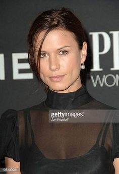 Rhona Mitra during 13th Annual Premiere Women In Hollywood at Beverly Hills Hotel Bungalows in Beverly Hills California United States