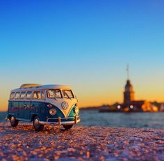 Edited with ✨DeluxeFX✨ app --- photo by dear check his awesome feed ou Miniature Photography, Toys Photography, Creative Photography, Amazing Photography, Landscape Photography, Bentley Auto, Volkswagen, Vw Bus, Wolkswagen Van