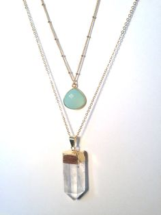 The Emery Layering Necklaces 2 Beautiful by TheGlitteredGal, $35.00