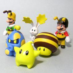 Super Mario Galaxy figures Set 1 Super Mario Toys, Mario Cake, Nintendo, Modern Toys, Gamers, Mario Party, Mario Brothers, Game Character, Toys