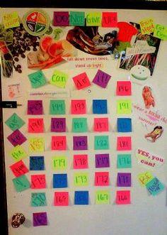 My motivation board!