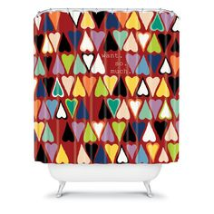 Sharon Turner Want So Much Shower Curtain