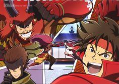 Takeda Shingen, Sanada Yukimura, and Surotobi Sasuke Oyakata SAMAAAAAAAAAAAAAAAAAAAAA (Sengoku Basara)
