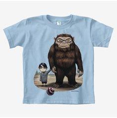 Kids 100% Organic Cotton T-Shirt Leonard Searching