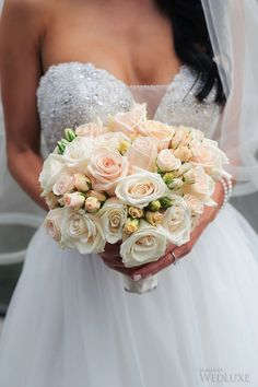 WedLuxe– A Pink & White Wedding in Muskoka | Photography by: LifeImages  . Follow @WedLuxe for more wedding inspiration!