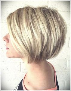 90 Bob Haircut Trends 2019 - Short and Curly Haircuts Curly Hair Cuts, Short Hair Cuts, Curly Hair Styles, Asymmetrical Bob Haircuts, Short Bob Haircuts, Bob Haircut For Fine Hair, Bobs For Thin Hair, Medium Bob Hairstyles, Black Hairstyles