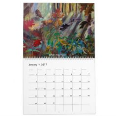 Robin Maria Pedrero Calendar