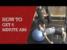 How to get six pack abs in  6 minute workout diy channel youtube