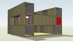 Modern House Plans by Gregory La Vardera Architect: IBU modular houses