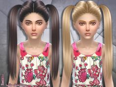 50 colors( new 8 pastel colors)  Found in TSR Category 'Sims 4 Female Hairstyles'