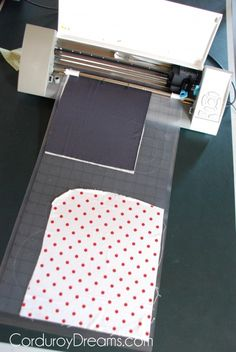 How to Cut Fabric with a Silhouette (and iron it on a shirt) | The Creative Mom