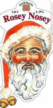 rosey nose santa not rudolph !