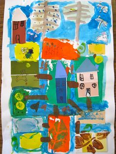 1000+ images about Mixed-Media: Art Projects for Kids on ...