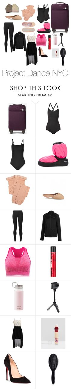 """Project Dance NYC"" by audrabergevin ❤ liked on Polyvore featuring MICHAEL Michael Kors, Ballet Beautiful, Bloch, Capezio, The Row, USA Pro, Sexy Hair, Kate Spade, GoPro and Pilot"
