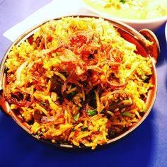 Biryani is love at first sight come over to have some Orlando Restaurants, Biryani, Love At First Sight, Catering, Cooking Recipes, Ethnic Recipes, Chinese, Indian, Drinks