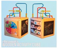 Wooden Activity Cube for kids at Chisami via Sims 4 Updates