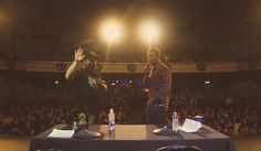 Scenes From Stuff You Should Know: Live!  We just had a great time out West.