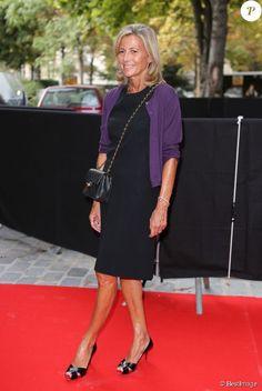 Claire Chazal a 58 ans : Les 10 photos les plus glamour de la star ...