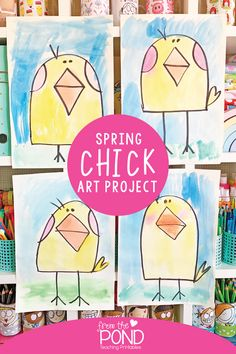 Spring Chick Art Project | From the Pond