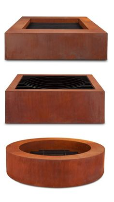 Cor-Ten steel. Fire pits that will last!