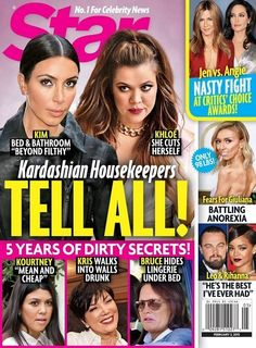 Bruce Jenner's Lingerie, Khloe Kardashian Cuts Herself: Dirty Secrets Exposed by Housekeepers? (PHOTO)