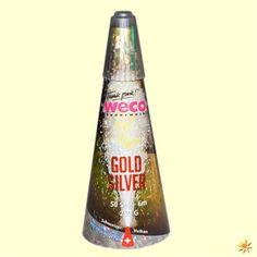 Schweizer Gold/ Silber Vulkan Feuerwerk Feuerwerkskörper Bodenfeuerwerk