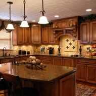 Tuscan Kitchen Designs Pics and I like every one!!