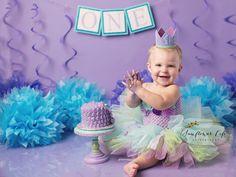 Mermaid Birthday Crown of Glitter // First by PreshToastCrowns