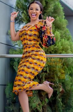 Check out african fashion styles, ankara styles, african print styles from the ever beautiful serwaa amihere