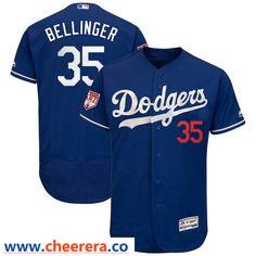6498c6e15 Dodgers 35 Cody Bellinger Royal 2019 Spring Training Flexbase Jersey  Dodgers Jerseys