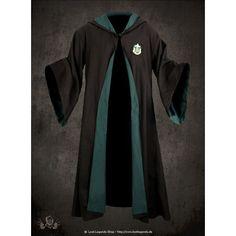 harry-potter-slytherin-schuluniform-robe---15880.jpg (JPEG Image, 640... ❤ liked on Polyvore featuring harry potter