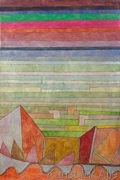 Paul Klee - Blick in das Fruchtland