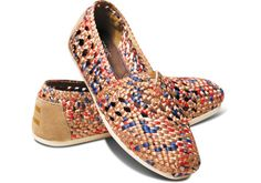 TOMS+ Tan Blue Women's Crochet Classics | TOMS, How would you style these? http://keep.com/tomsand-tan-blue-womens-crochet-classics-toms-by-carly_press/k/05X-lGgBJd/
