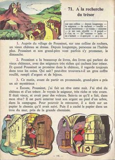 Manuels anciens: Tranchart, Levert, Rognoni, Bien lire et comprendre Cours élémentaire (1963) : grandes images French Learning Books, Teaching French, English Story Books, French Worksheets, French Grammar, French Phrases, Lus, French Language, Learn French