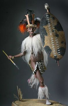Zulu Warrior - Queen Victoria's colonial adventurism included expeditions into… African Tribes, African Art, African Culture, African American History, Zulu Warrior, Warrior Queen, Deadliest Warrior, People Of The World, Military History