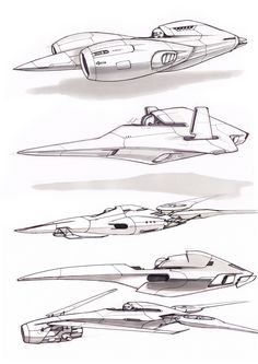 Concept sketches on Behance