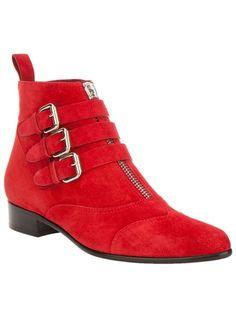 Fierce Tabitha Simmons Red Boots