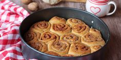 Škoricové a čokoládové osie hniezda s orechami Healthy Cookies, Cereal, Muffin, Sweets, Breakfast, Desserts, Cakes, Sweet Pastries, Morning Coffee