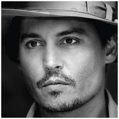 Johnny Depp. why does he look even more gorgeous in black and white