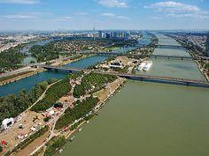 Donauinsel, #Wien #Vienna #Austria #オーストリア Monuments, Austria, Honeymoon Pictures, Heart Of Europe, Danube River, Homeland, Most Beautiful Pictures, Travel Destinations, Skyline