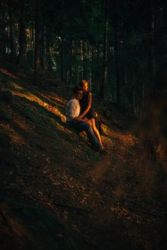 Marta & Kamil || Poland #photography #oldstonemine #sunbeams #goldensun #sunset