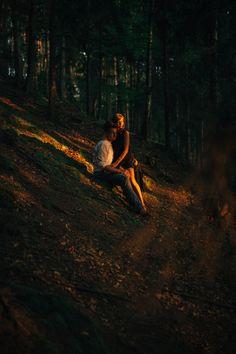 Marta & Kamil    Poland #photography #oldstonemine #sunbeams #goldensun #sunset