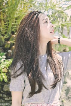 Ulzzang. Park Seul. the pure girl in the sunshine...