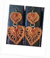 crochet earrings handmade