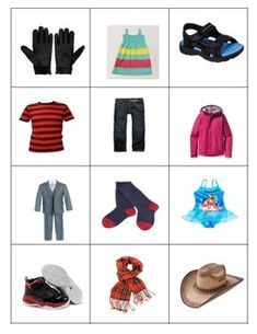 Creative Curriculum Clothes Bingo by Red's Early Childhood Small Group Activities, Kids Work, Creative Curriculum, Vocabulary Building, Working With Children, Small Groups, Bingo, Early Childhood, Teacher Pay Teachers