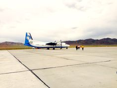 Travelling around Mongolia is a difficult business, sometimes it's better to fly