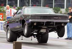 1968 Dodge Charger wheels up